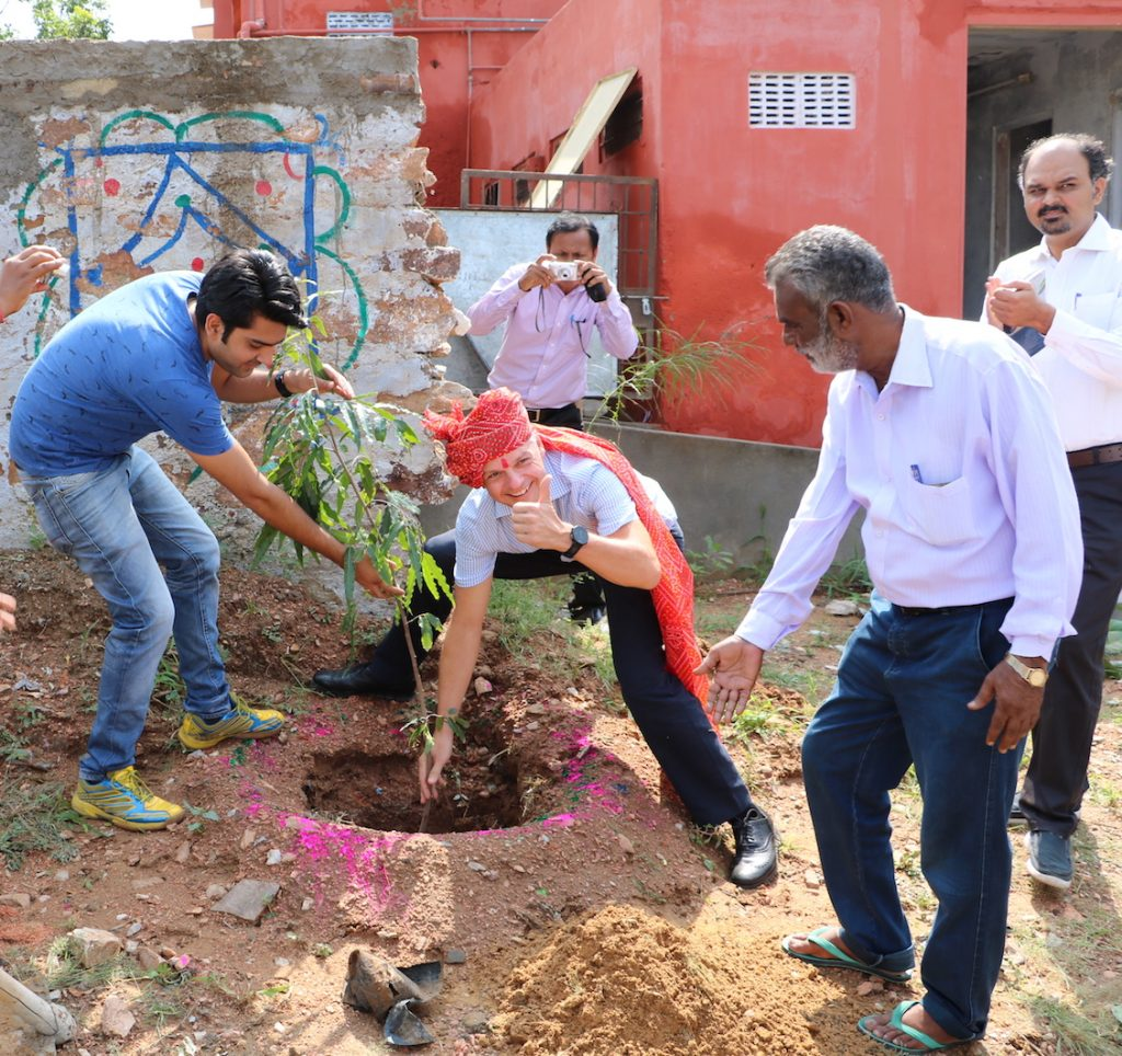 Planting a tree for the following generations