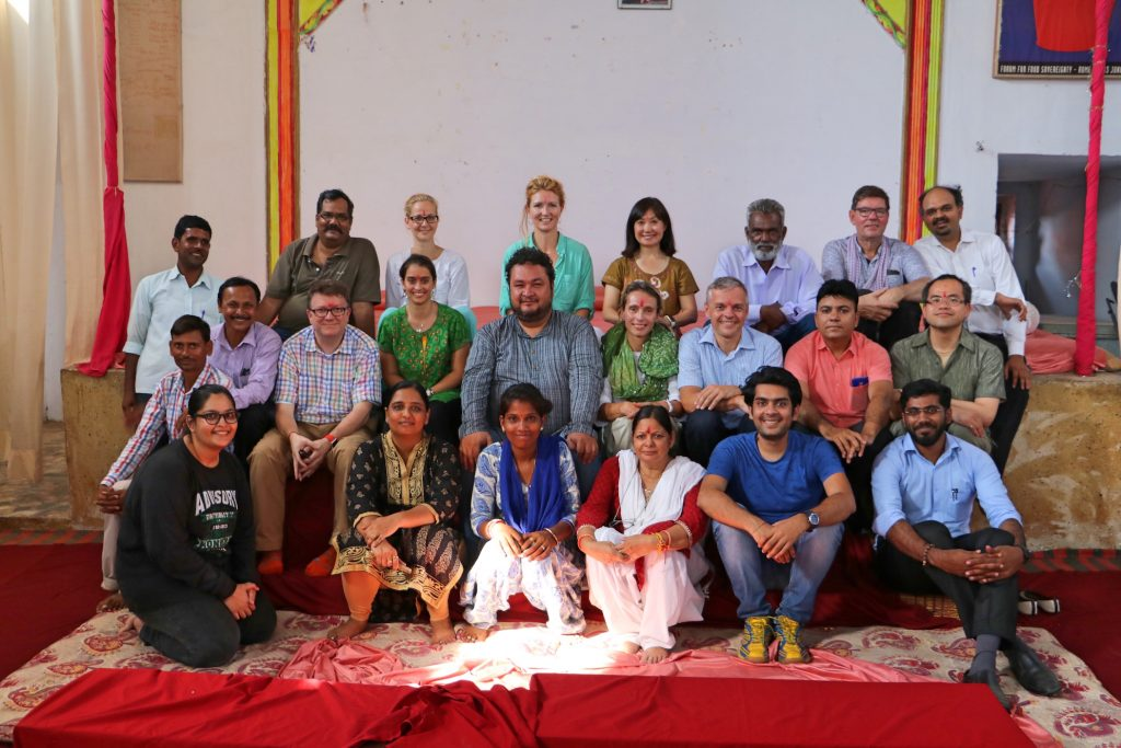IBM CSC Community Service Day India 32 team with CECOEDECON and VSO